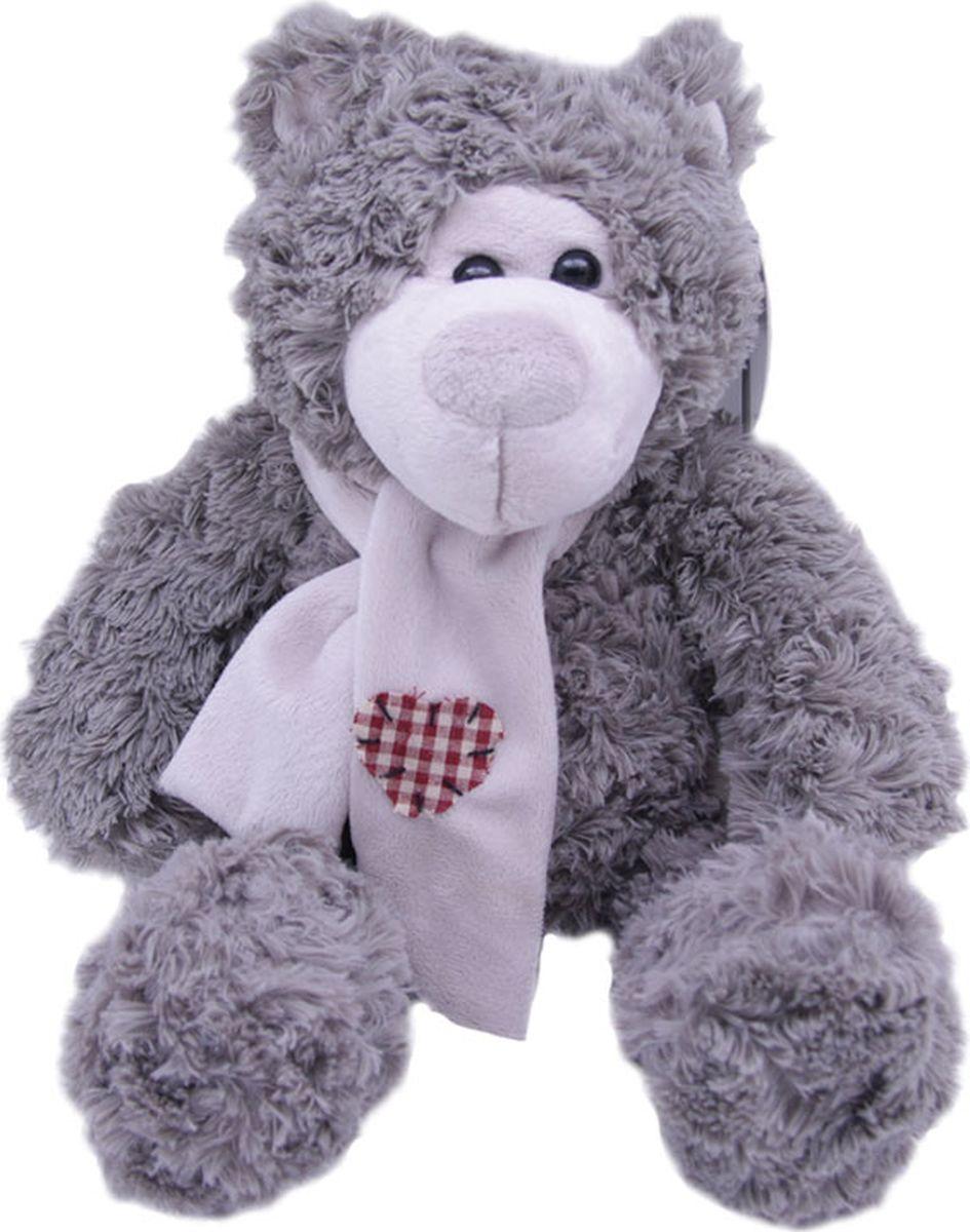 Magic Bear Toys Мягкая игрушка Мишка Эдгар в шарфе 25 см