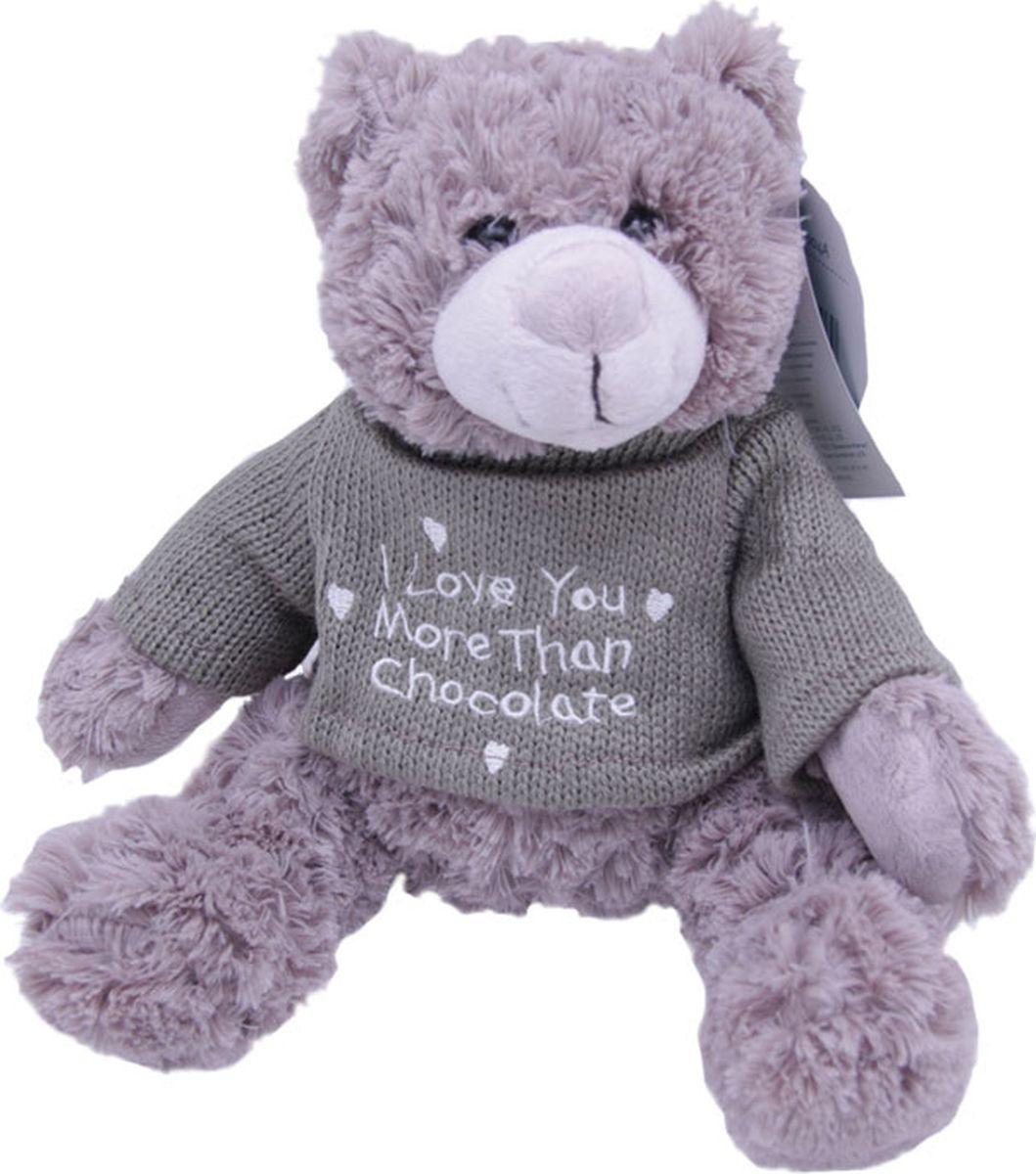 Magic Bear Toys Мягкая игрушка Мишка Рональд в свитере 23 см