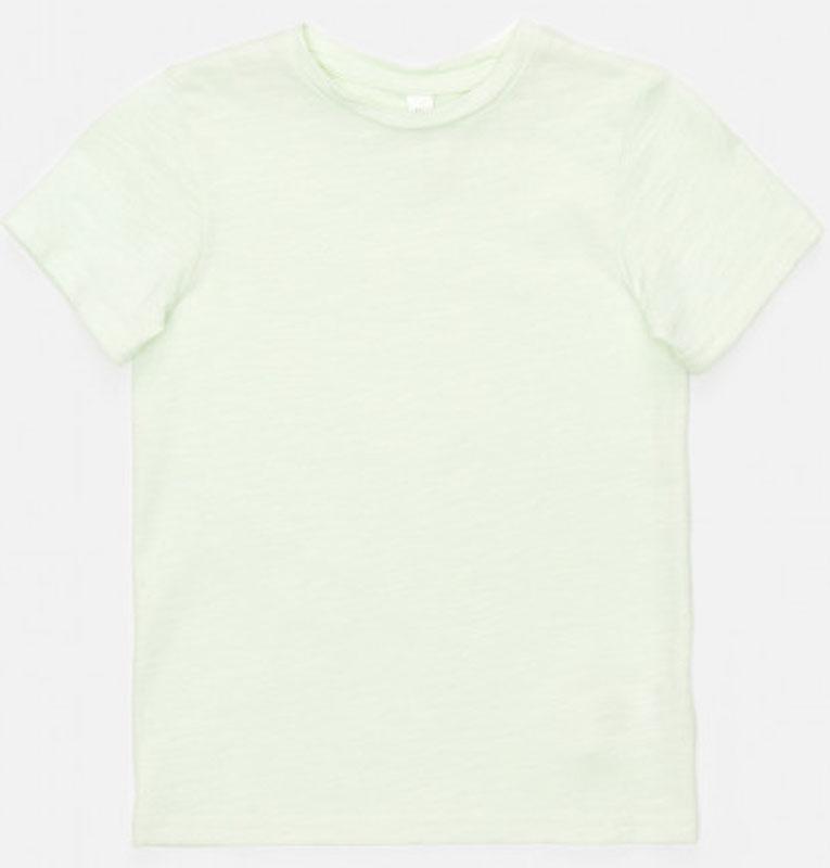где купить Футболка для девочки Acoola Argo, цвет: светло-зеленый. 20220110125_2200. Размер 128 по лучшей цене