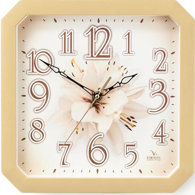 Часы настенные Вега ЛилияП4-14/7-87Каждому хозяину периодически приходит мысль обновить свою квартиру, сделать ремонт, перестановку или кардинально поменять внешний вид каждой комнаты - привлекательная деталь, которая поможет воплотить вашу интерьерную идею, создать неповторимую атмосферу в вашем доме.Окружите себя приятными мелочами, пусть они радуют глаз и дарят гармонию.