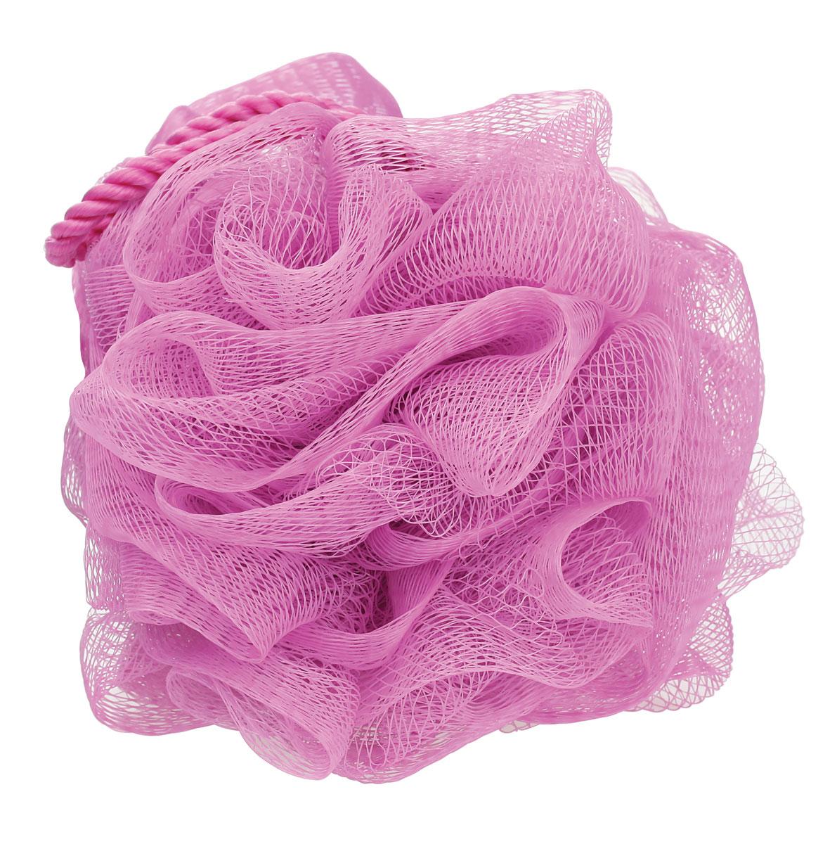 QVS Luxe Bath Sponge Мочалка для тела со шнуром