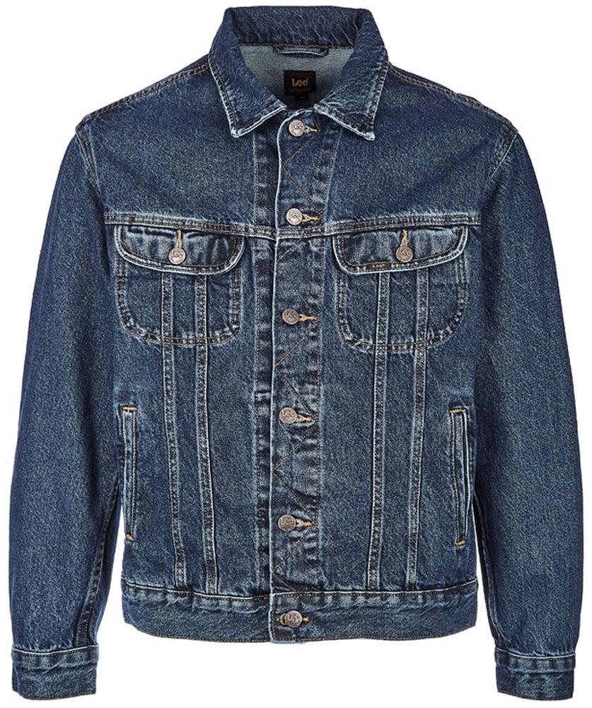Купить Куртка мужская Lee, цвет: синий. L89ZRD46. Размер S (46)