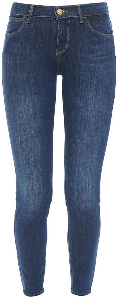 Джинсы женские Wrangler Super Skinny, цвет: синий. W29JGT12X. Размер 32-32 (48-32) джинсы wrangler wrangler wr224ewbohs8