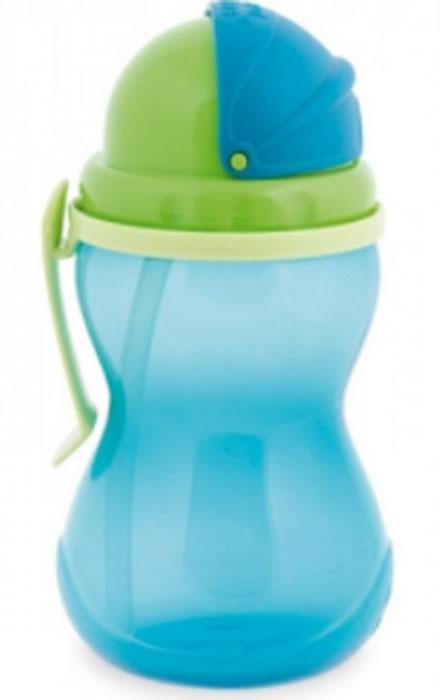 Canpol Babies Поильник с трубочкой от 12 месяцев цвет синий 370 мл