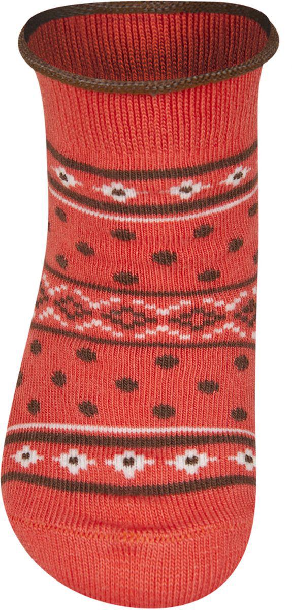 Носки детские Soxo, цвет: оранжевый. 56220. Размер 16/18