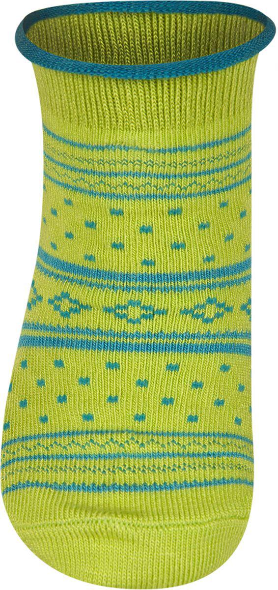 Носки детские Soxo, цвет: зеленый. 56220. Размер 16/18