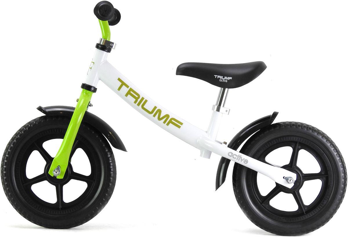 Triumf ActiveБеговел AKB-1289 цвет белый зеленый Triumf Active