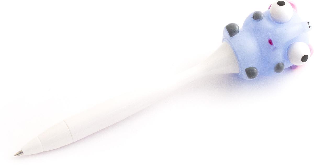 Эврика Ручка шариковая Лупоглазик №5 цвет корпуса белый цвет чернил синий98605Ручка лупоглазик Шариковая ручка с забавной зверюшкой из мягкого силикона умеет стрелять глазами . Стоит нажать на нос зверька, и без того выпученные глаза существа выскочат из орбит. Цветная ручка-игрушка снабжена прозрачным колпачком для предохранения чернил от высыхания. Стержень несменяемый, синий.Материал: пластик, силикон.Упаковка: пакет.Размер: 16 x 3 x 2 см.