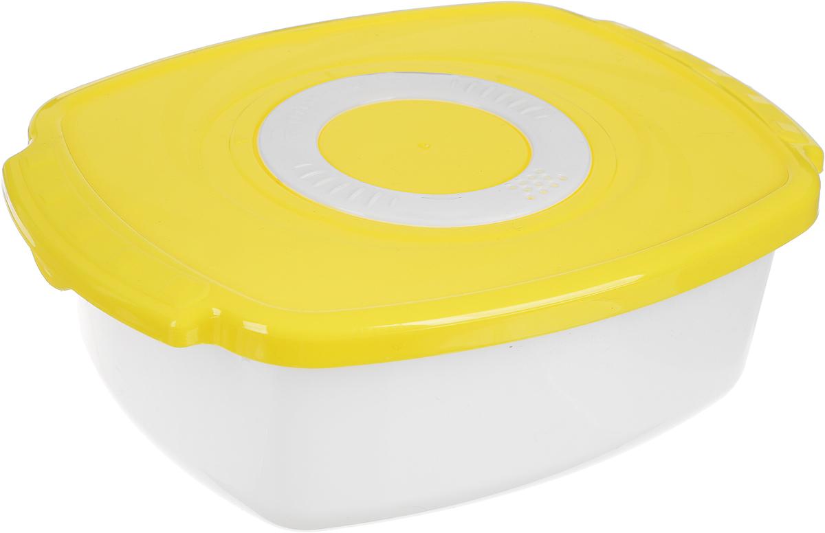 Кастрюля для СВЧ Plastic Centre Galaxy, цвет: оранжевый, 1,6 л