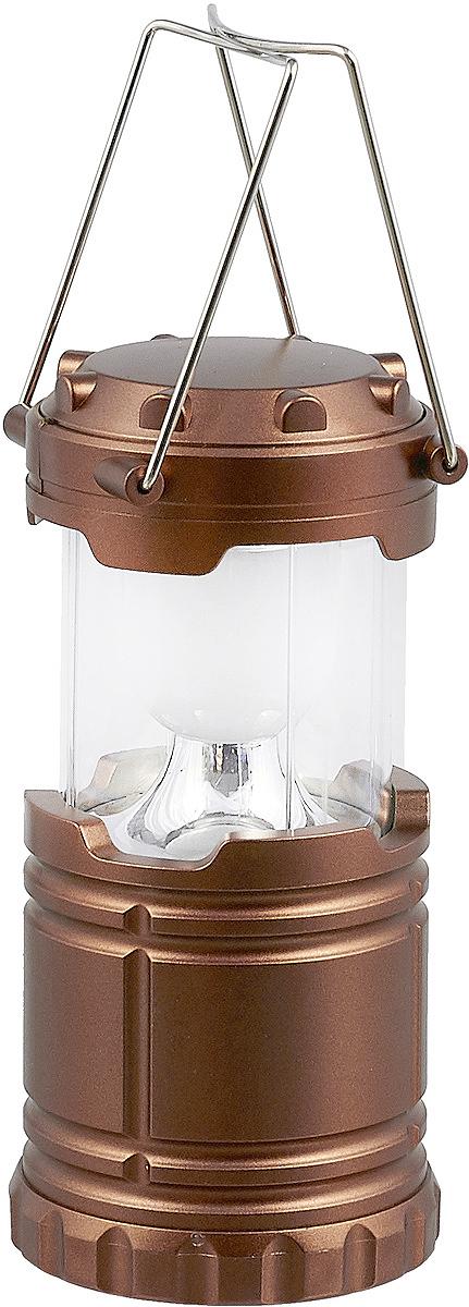"""Кемпинговый фонарь """"FOCUSray"""" очень удобен в походах и путешествиях. Корпус выполнен из пластика. Он имеет один светодиод мощностью 3 Вт. В верхней части фонаря расположен контейнер для хранения мелких предметов. Источник питания: 3 х АА (в комплект не входит). Источник света: 3W LED."""