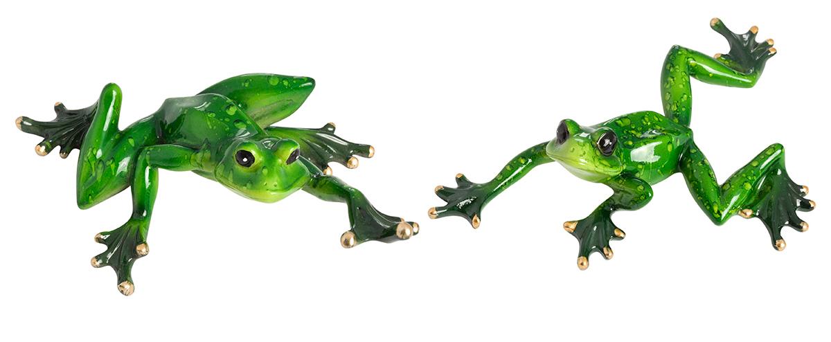 Декоративные фигурки в виде забавных лягушат, изготовленные из полистоуна, станут необычным аксессуаром для вашего интерьера. Эти очаровательные вещицы станут отличным подарком Вашим друзьям и близким.