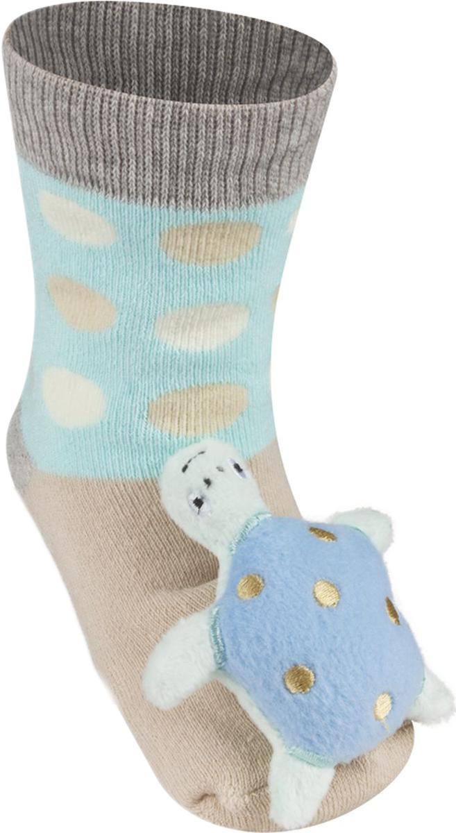 Носки детские Soxo Черепашка, цвет: бежевый. 84858. Размер 19/21 носки детские soxo цвет голубой 84858 размер 19 21