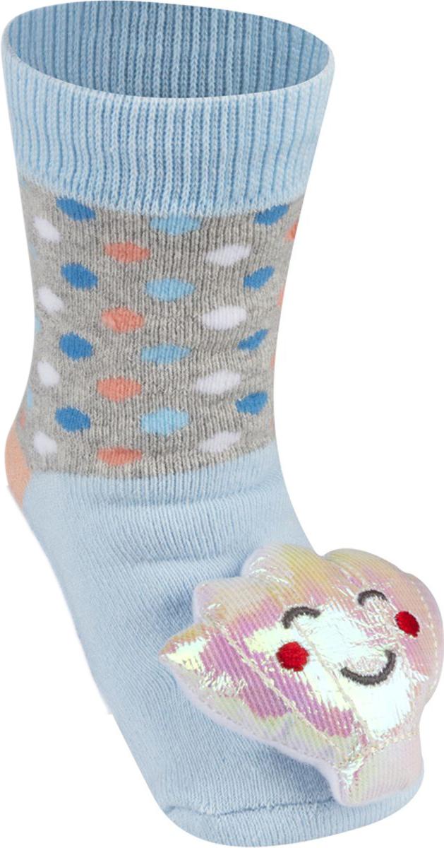 Носки детские Soxo, цвет: голубой. 84858. Размер 19/21 носки детские soxo цвет голубой 84858 размер 19 21