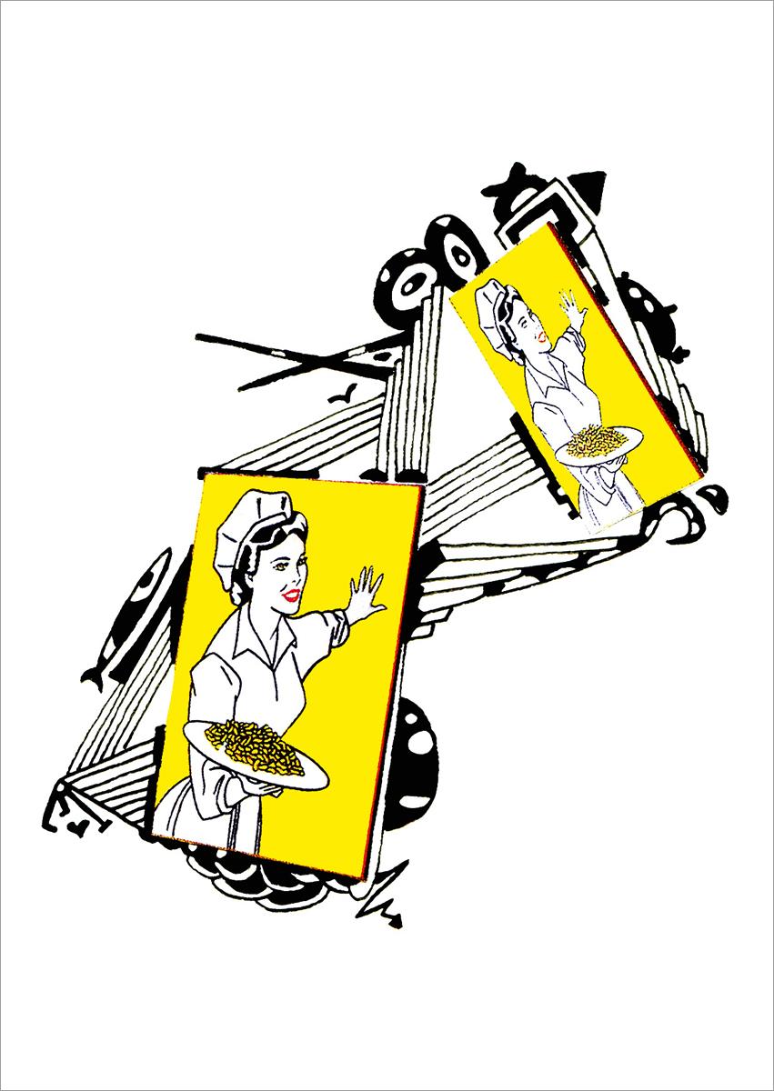 Блокнот Brook Books 32 листа в линейку цвет белый ВВ17