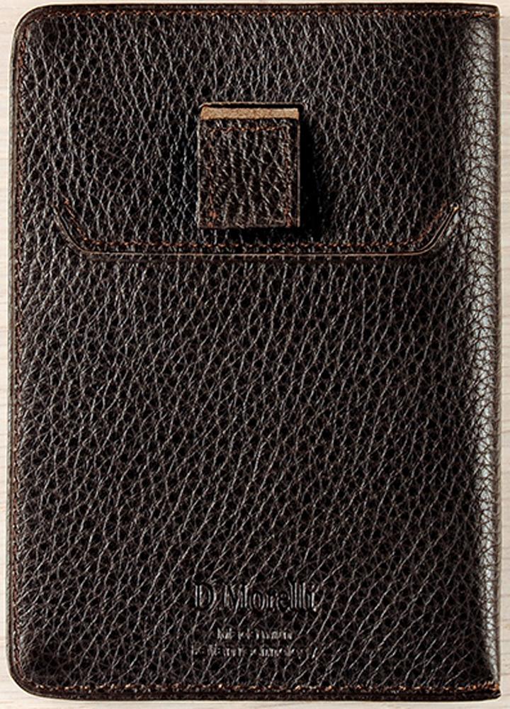 Обложка для паспорта мужская D. Morelli Texas, цвет: коричневый. DM-FP01-F002 обложки domenico morelli обложка для паспорта с отделением для карт эльза принт колибри