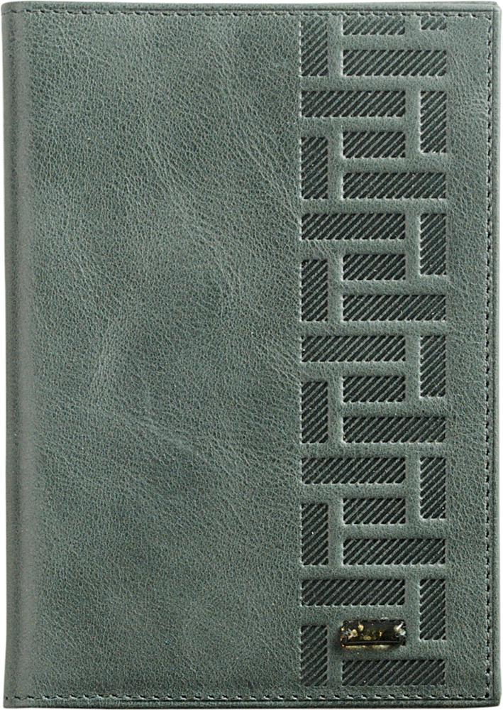 Обложка для паспорта женская D. Morelli Элегия, цвет: зеленый обложка для паспорта женская d morelli lime цвет салатовый