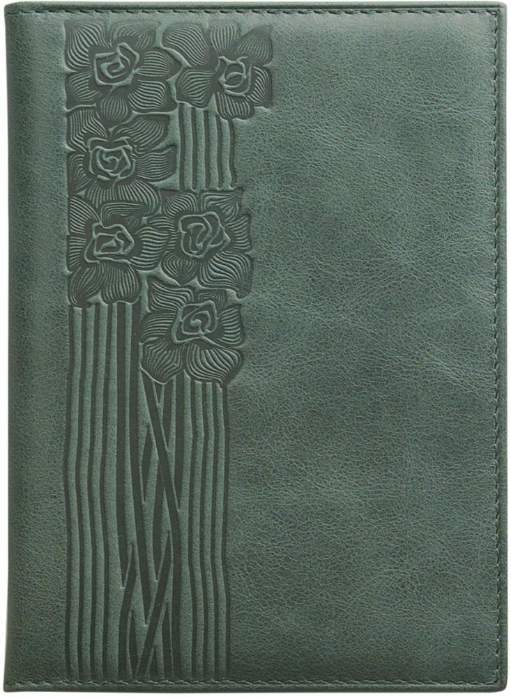 Обложка для паспорта женская D. Morelli Сюита, цвет: зеленый