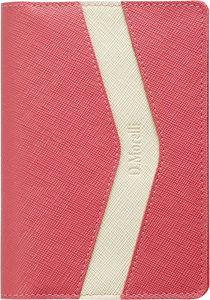 Обложка для паспорта женская D. Morelli Монро, цвет: розовый