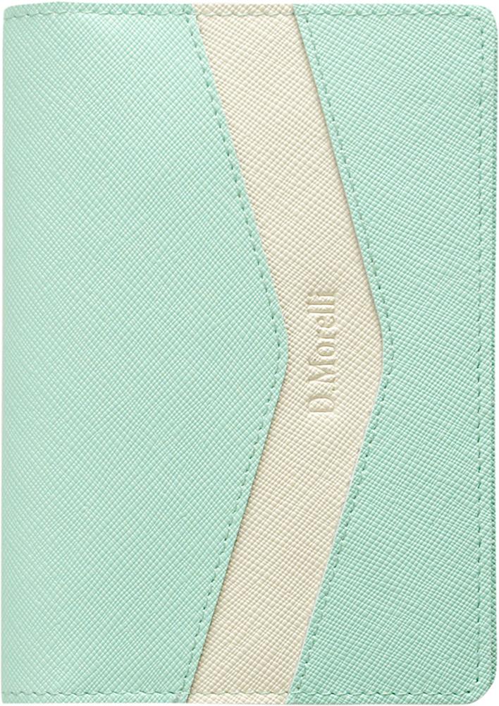 Обложка для паспорта женская D. Morelli Монро, цвет: салатовый