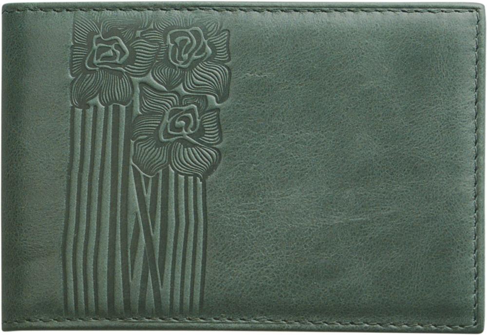 Визитница женская D. Morelli Сюита, цвет: зеленый. DM-WZ012-KT97 визитница женская premier цвет темно зеленый 193681