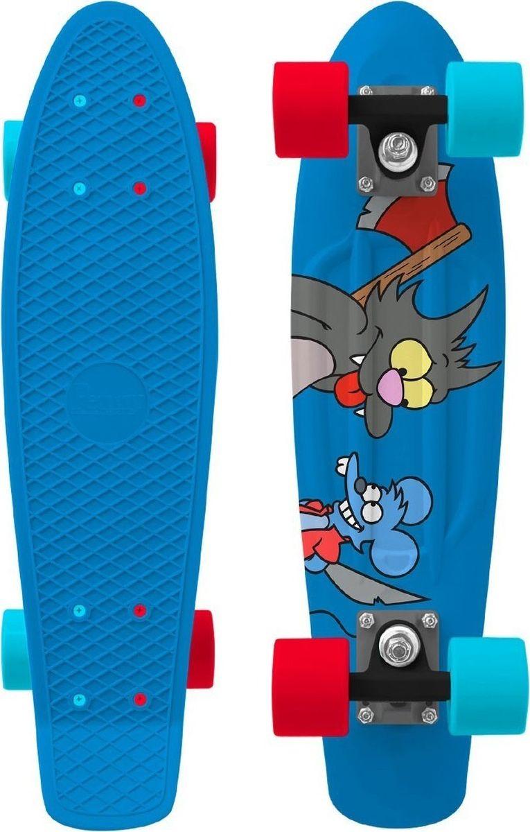 Пенни борд Penny Simpsons, цвет: синий, дека 22PNYCOMP22379Ограниченный тираж лонгбордов Penny Simpsons 22. Превосходное сцепление и повышенная маневренность. Получите удовольствие от езды в компании Гомера, Барта, Ральфа и Отто из Спрингфилда.