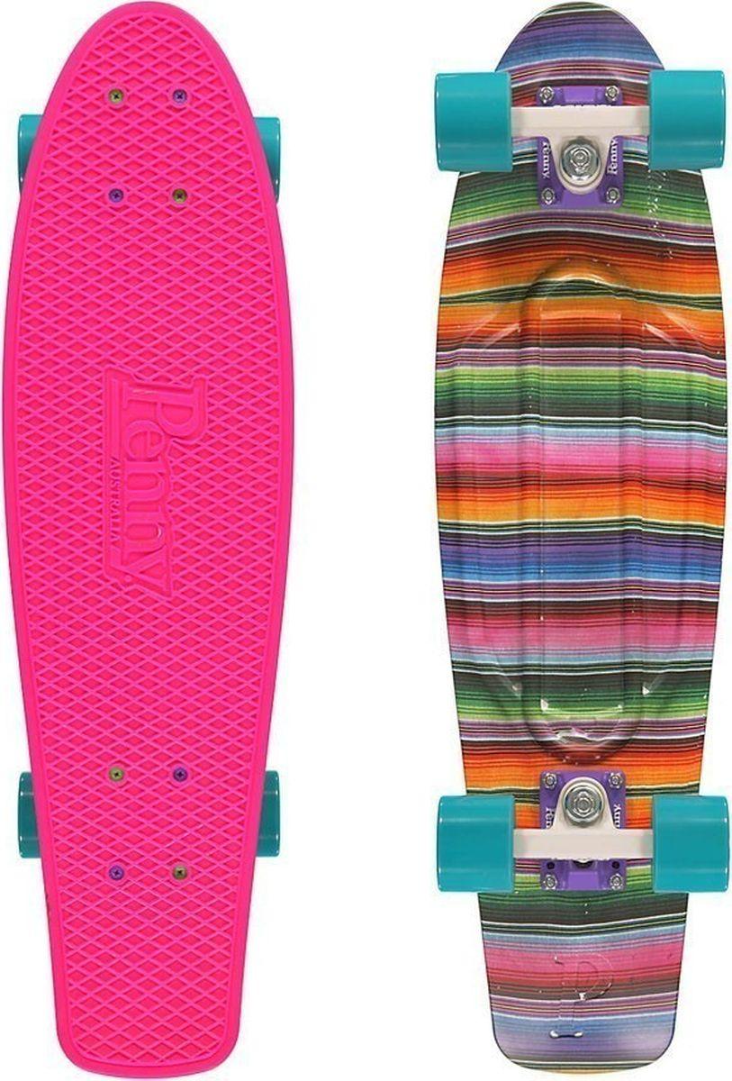 Сочетание освежающих цветов позволяет легко представить себя путешествующим на этом скейтборде где-нибудь по залитым солнцем улицам. Penny NICKEL27 олицетворяет собой свободу высокого качества!