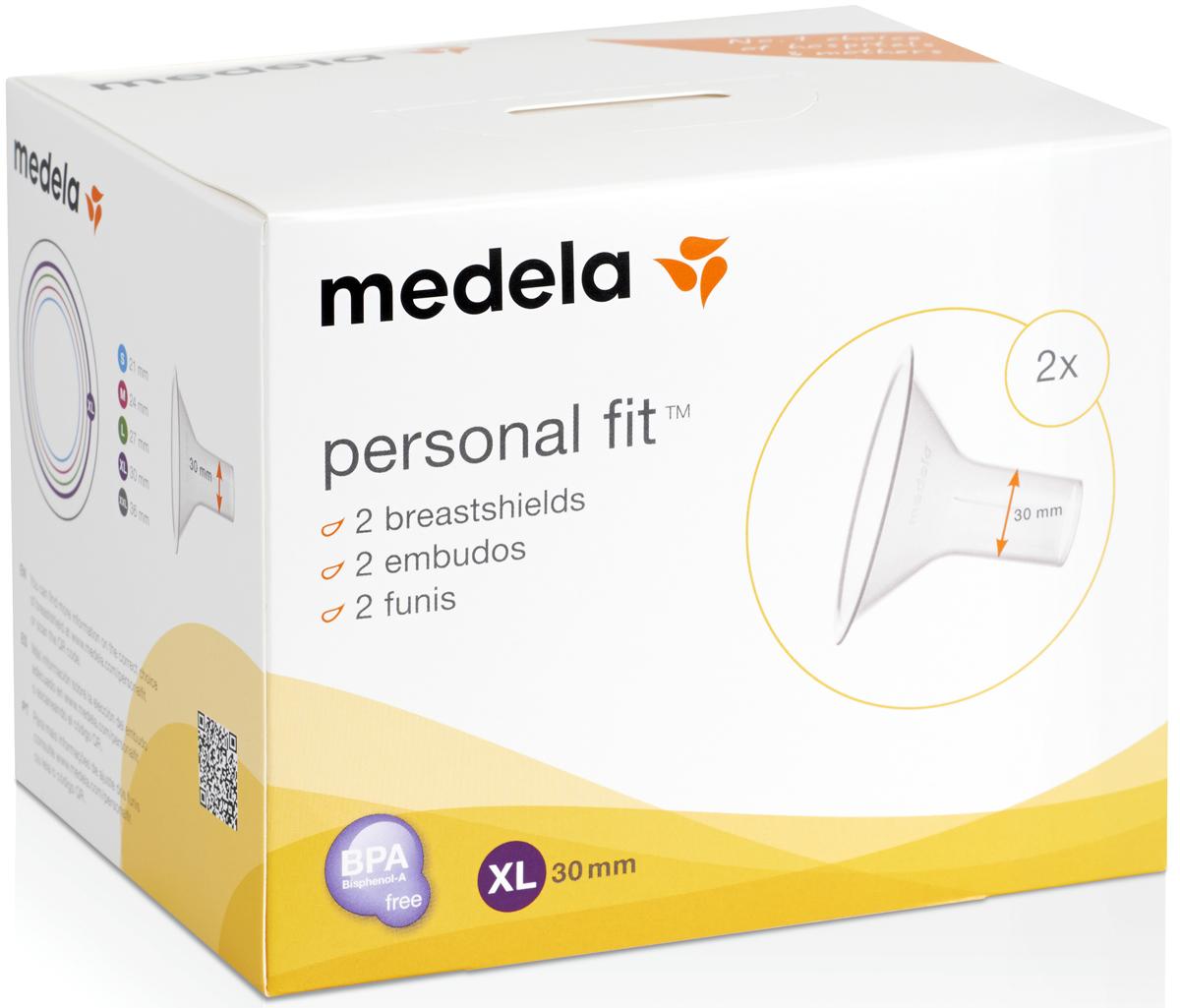 Воронка PersonalFit к молокоотсосу (XL), Medela