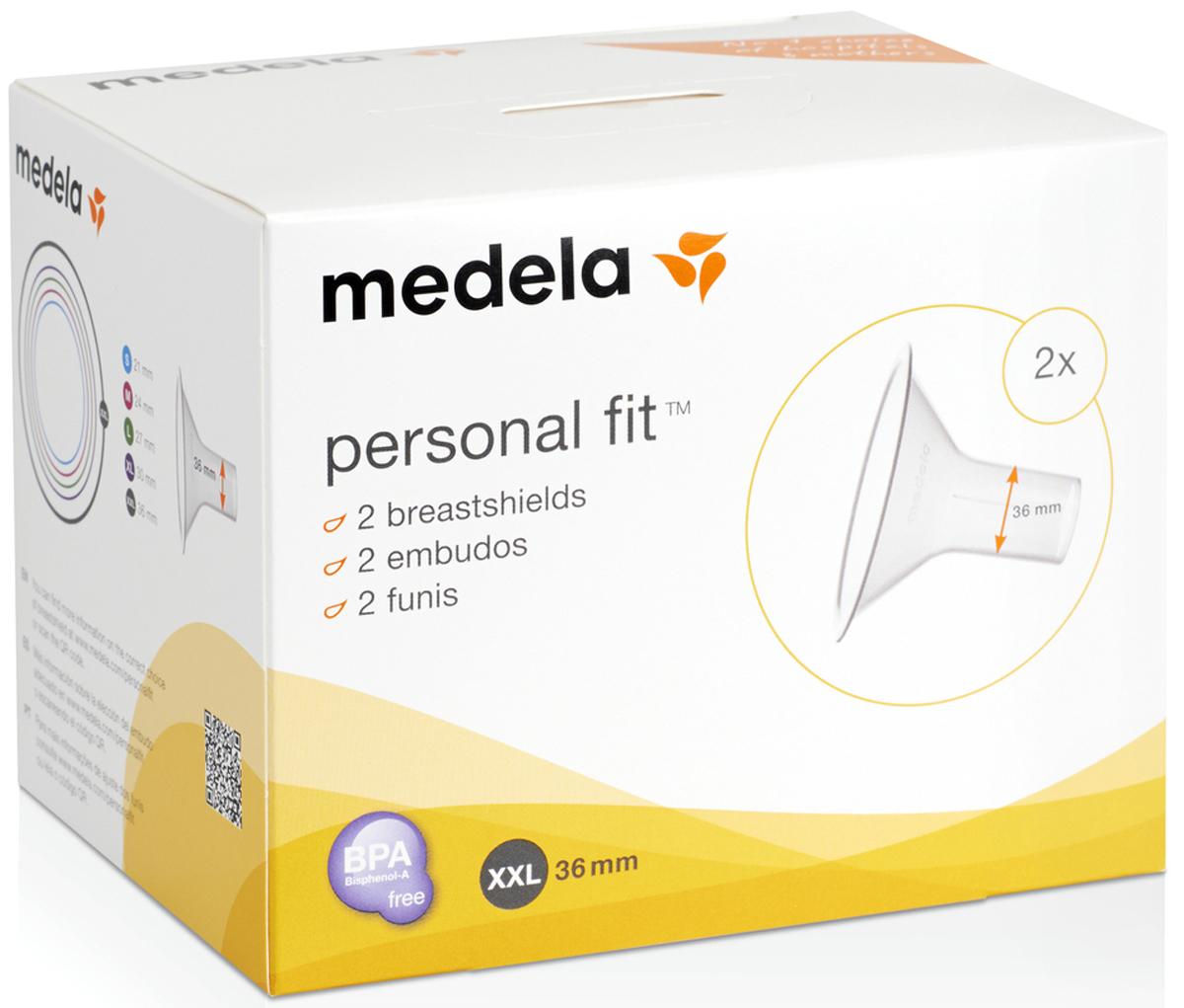 Воронка PersonalFit к молокоотсосу (XXL), Medela