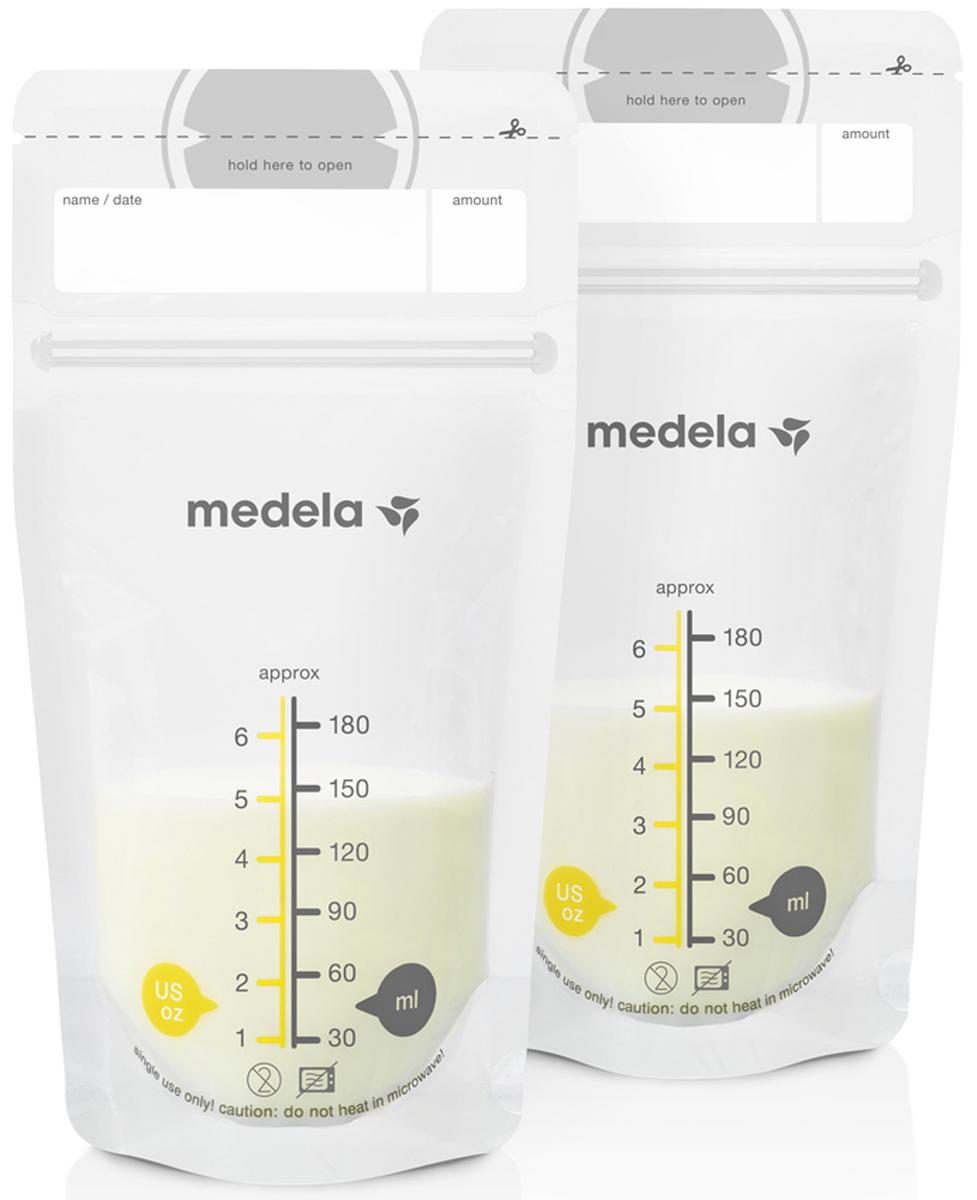 Medela Пакеты для грудного молока Breast Milk Storage Bags 25 шт - Молокоотсосы