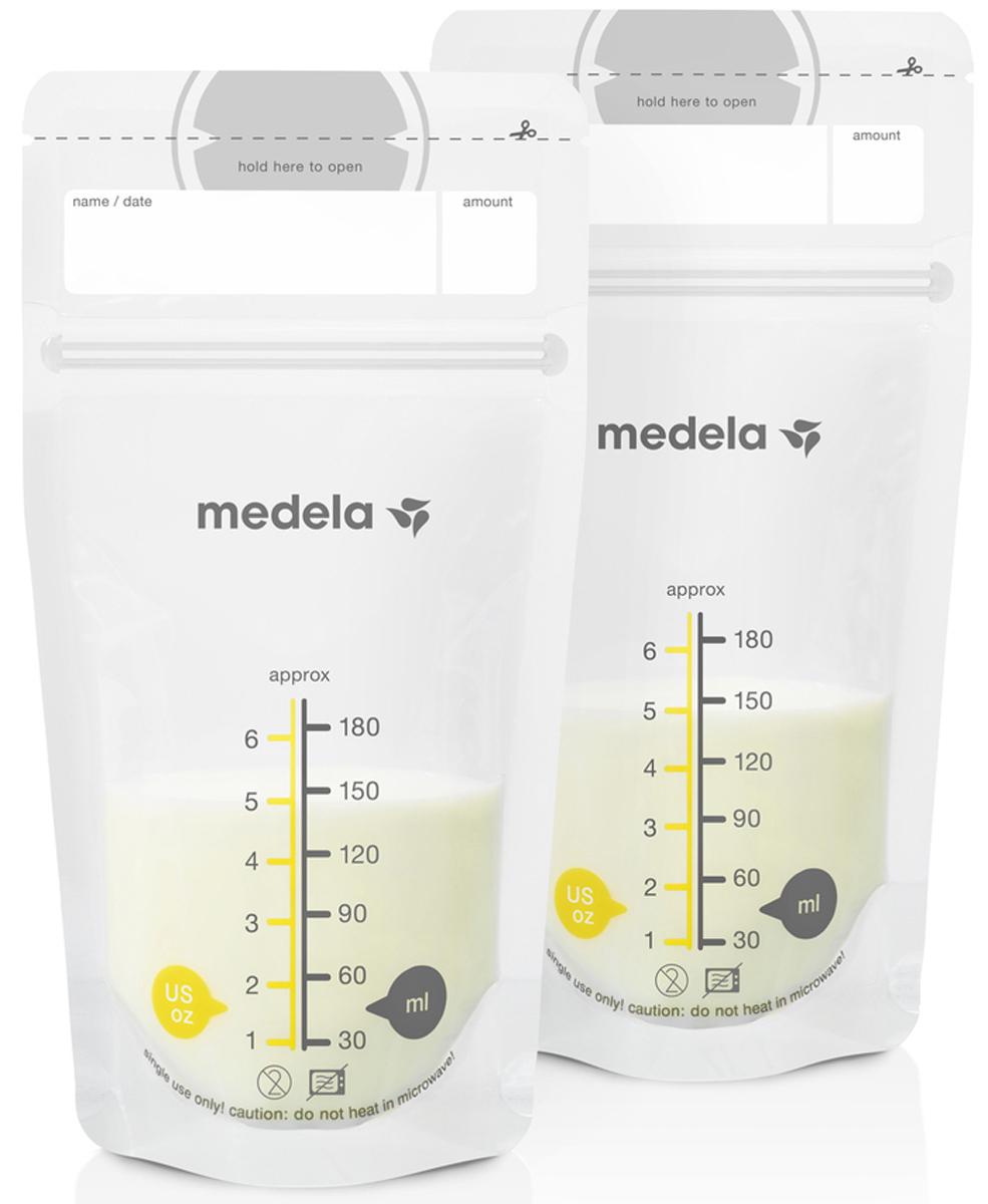 Medela Пакеты для грудного молока Breast Milk Storage Bags 50 шт - Молокоотсосы
