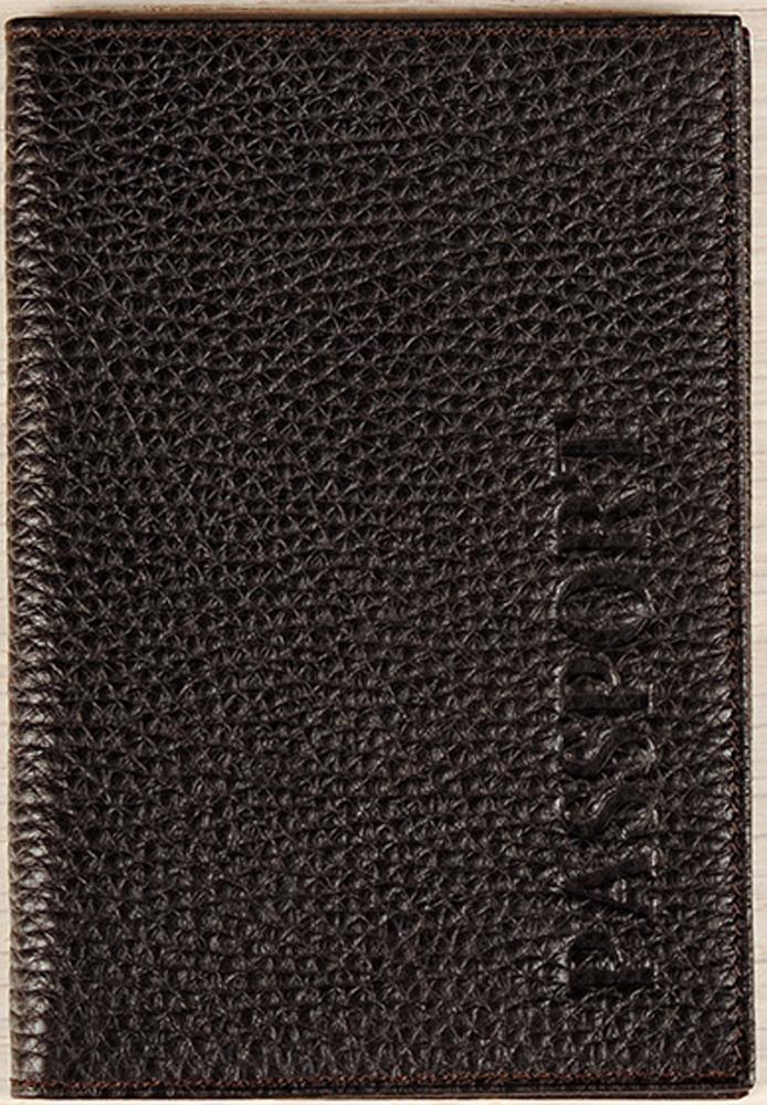Обложка для паспорта мужская D. Morelli Texas, цвет: коричневый. DM-PS02-F002Натуральная кожаИзысканная обложка для паспорта D. Morelli Texasизготовлена из натуральной кожи. Внутренний функционал: кожаные карманы и 4 прорезных кармашка для пластиковых карт.Такая обложка.отлично впишется в ваш образ.