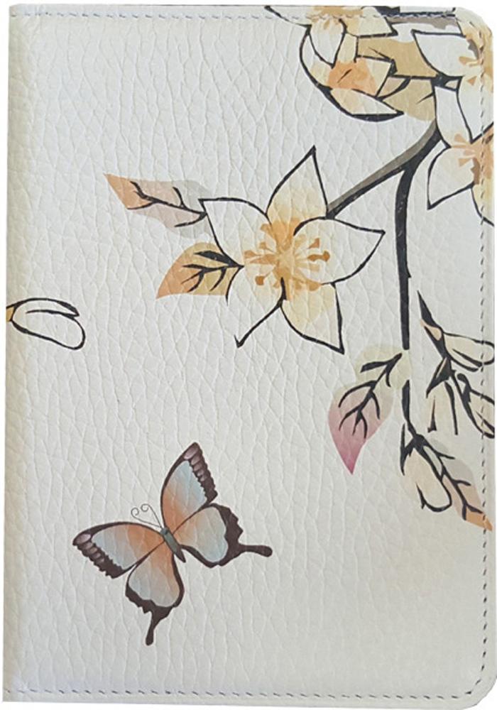 Обложка для паспорта женская D. Morelli Эльза, цвет: белый обложка для паспорта женская fabula london цвет белый o 85 sp