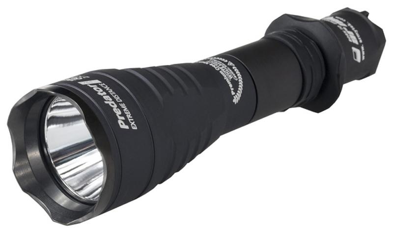 Фонарь светодиодный тактический Armytek Predator Pro v3 XHP 35, 1580 лм, теплый свет, аккумулятор фонарь armytek barracuda pro v2 xhp35 hi silver