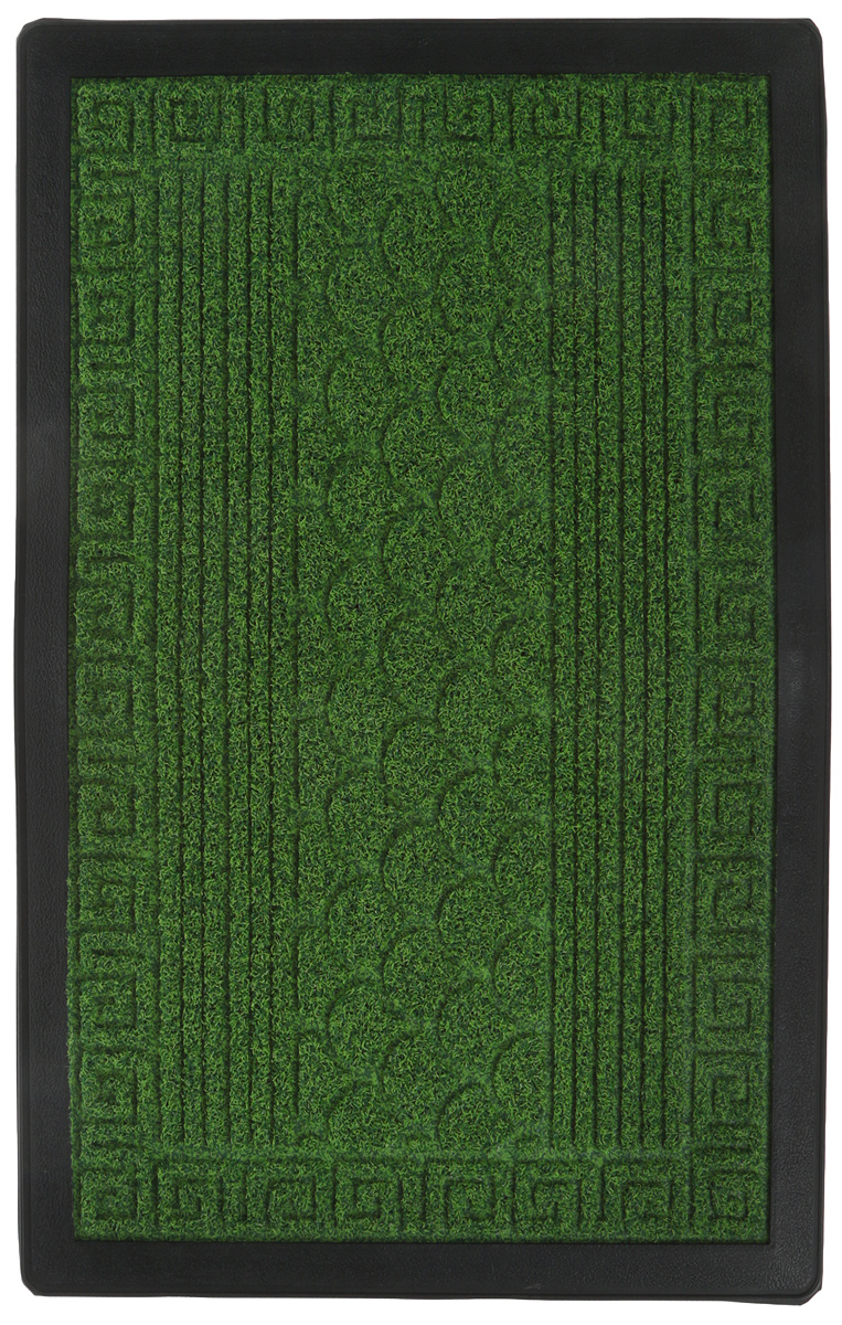 Коврик рельефный Vortex Grass, цвет: зеленый, 40 х 60 см ваза mughal l 20 х 20 х 30 см