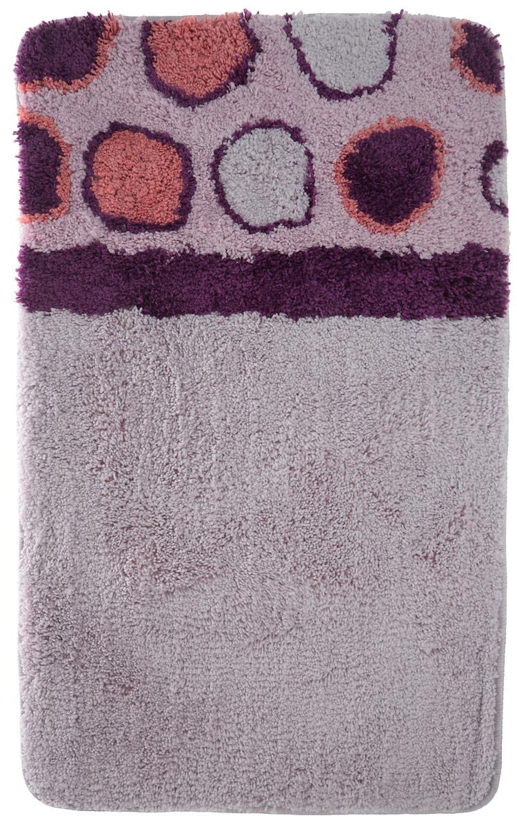 Невероятно мягкий ворсовый коврик для вашей ванной комнаты. Ворс выполнен из микрофибры по уникальной технологии, разработанной специально для этой коллекции. Тончайшая микрофибра закручена в нить ворса таким образом, что она наполнена воздухом, и буквально дышит, что делает ворс невероятно мягким и нежным на ощупь. Благодаря такой технологии изготовления коврик обладает высокими влаговпитывающими свойствами. Яркие расцветки достигаются окрасом нитей высококачественными красителями, которые дают насыщенный цвет, не выцветают со временем и не линяют при стирке и использовании. Основание коврика выполнено из высококачественного латекса, который обеспечивает противоскользящий эффект, не крошится даже при длительном использовании. Коврик подходит для пола с подогревом. Допускается деликатная ручная или машинная стирка при t=30°C). После стирки коврик быстро сохнет.Плотность ворса: 700 гр/м2.