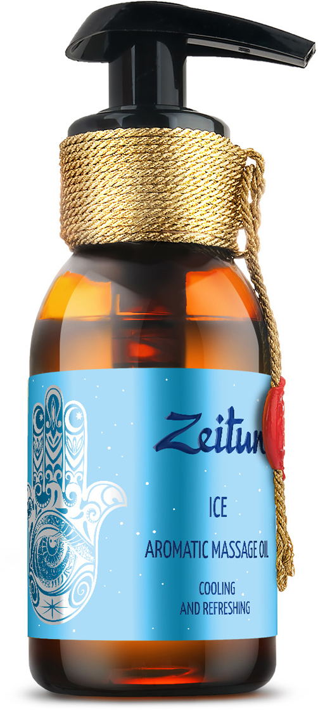 Зейтун Ароматическое массажное масло Лед мята переченная, лайм, лимон, 100 мл масло zeitun зейтун масло ароматическое массажное романтика флакон 100 мл