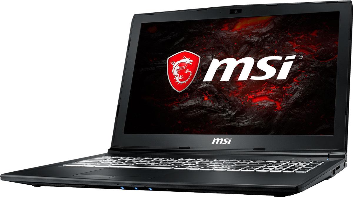 MSI GL62M 7REX-2672RU, BlackGL62M 7REX-2672RUБыстрый игровой ноутбук MSI GL62M 7REX с процессором 7-го поколения Intel Core i7-7700HQ ипроизводительной графической картой NVIDIA GeForce GTX 1050Ti. 7-ое поколение процессоров Intel Core серии H обрело более энергоэффективную архитектуру, продвинутыетехнологии обработки данных и оптимизированную схемотехнику. Производительность Core i7-7700HQ посравнению с i7-6700HQ выросла в среднем на 8%, мультимедийная производительность - на 10%, а скоростьдекодирования/кодирования 4K-видео - на 15%. Аппаратное ускорение 10-битных кодеков VP9 и HEVC сталоменее энергозатратным, благодаря чему эффективность воспроизведения видео 4K HDR значительновозросла.3D-производительность GeForce GTX 1050 Ti по сравнению с GeForce GTX 965M увеличилась более чем на 15%.Инновационная система охлаждения Cooler Boost 4 и особые геймерские технологии раскрыли весь потенциалновейшей NVIDIA GeForce GTX 1050 Ti. Совершенно плавный геймплей на ноутбуках MSI Gaming разбиваетстереотипы об исключительной производительности десктопов, заставляя взглянуть на мобильный гейминг по- новому.Запускайте игры быстрее других благодаря потрясающей пропускной способности PCI-E Gen 3.0x4 с поддержкойтехнологии NVMe на одном устройстве M.2 SSD. Используйте потенциал твердотельного диска Gen 3.0 SSD наполную. Благодаря оптимизации аппаратной и программной частей достигаются экстремальный скоростичтения до 2200 МБ/с, что в 5 раз быстрее твердотельных дисков SATA3 SSD.Вы сможете достичь максимально возможной производительности вашего ноутбука благодаря поддержкеоперативной памяти DDR4-2400, отличающейся скоростью чтения более 32 Гбайт/с и скоростью записи 36Гбайт/с. Возросшая на 40% производительность стандарта DDR4-2400 (по сравнению с предыдущим поколением,DDR3-1600) поднимет ваши впечатления от современных и будущих игровых шедевров на совершенно новыйуровень.Эксклюзивная технология MSI SHIFT выводит систему на экстремальные режимы работы, одновременноснижая шум и темпе