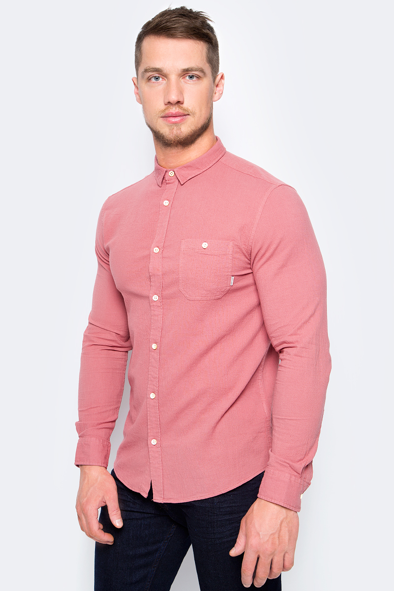 Рубашка мужская Quiksilver, цвет: бордовый. EQYWT03633-MMZ0. Размер  (46)
