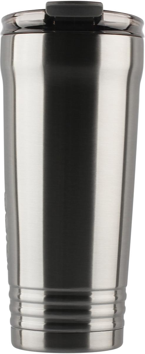 Кружка-термос Igloo Logan, с вакуумной изоляцией, цвет: серый, 887 мл
