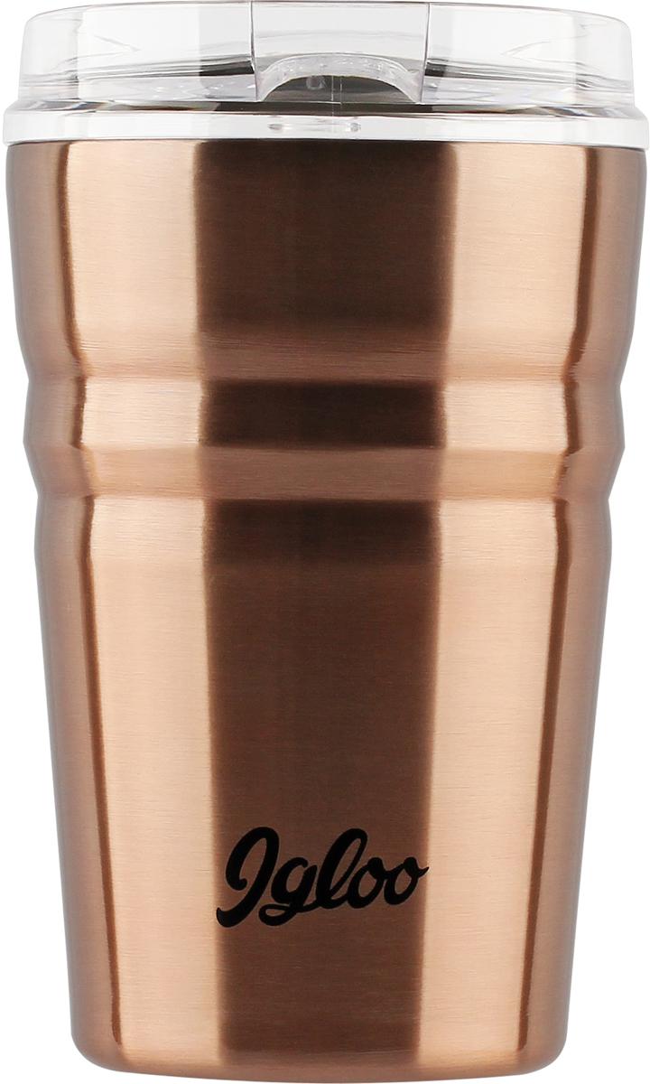 Кружка-термос Igloo Legacy, с вакуумной изоляцией, цвет: медный, 355 мл