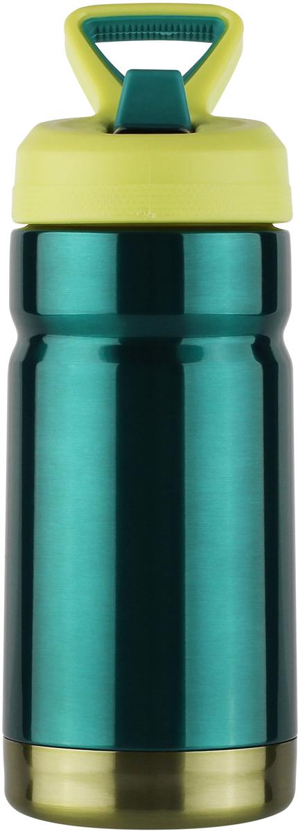 Термос CoolGear выполнен из нержавеющей стали с вакуумной изоляцией. Изделие дополнено встроенным кольцом для переноски и стойкой к ударам крышкой, изготовленной из пластика. Термос прекрасно подойдет для ежедневного использования.