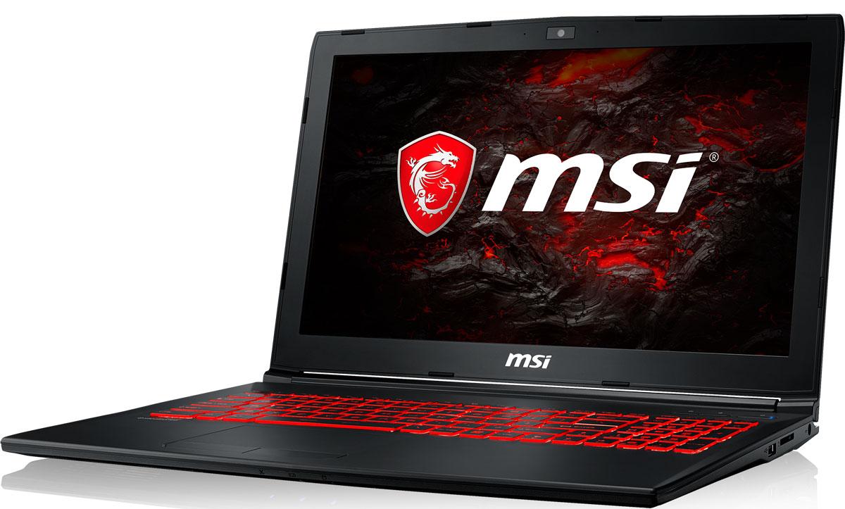 MSI GL62MVR 7RFX-1256RU, BlackGL62MVR 7RFX-1256RUБыстрый игровой ноутбук MSI GL62MVR 7RFX с процессором 7-го поколения Intel Core i7 и производительнойграфической картой NVIDIA GeForce GTX 1060. 7-ое поколение процессоров Intel Core серии H обрело более энергоэффективную архитектуру, продвинутыетехнологии обработки данных и оптимизированную схемотехнику. Производительность Core i7-7700HQ посравнению с i7-6700HQ выросла в среднем на 8%, мультимедийная производительность - на 10%, а скоростьдекодирования/кодирования 4K-видео - на 15%. Аппаратное ускорение 10-битных кодеков VP9 и HEVC сталоменее энергозатратным, благодаря чему эффективность воспроизведения видео 4K HDR значительновозросла.3D-производительность GeForce GTX 1060 увеличилась по сравнению с GeForce GTX 970M. Инновационнаясистема охлаждения Cooler Boost 4 и особые геймерские технологии раскрыли весь потенциал новейшей NVIDIAGeForce GTX 1060. Совершенно плавный геймплей на ноутбуках MSI Gaming разбивает стереотипы обисключительной производительности десктопов, заставляя взглянуть на мобильный гейминг по-новому.Запускайте игры быстрее других благодаря потрясающей пропускной способности PCI-E Gen 3.0x4 с поддержкойтехнологии NVMe на одном устройстве M.2 SSD. Используйте потенциал твердотельного диска Gen 3.0 SSD наполную. Благодаря оптимизации аппаратной и программной частей достигаются экстремальный скоростичтения до 2200 МБ/с, что в 5 раз быстрее твердотельных дисков SATA3 SSD.Вы сможете достичь максимально возможной производительности вашего ноутбука благодаря поддержкеоперативной памяти DDR4-2400, отличающейся скоростью чтения более 32 Гбайт/с и скоростью записи 36Гбайт/с. Возросшая на 40% производительность стандарта DDR4-2400 (по сравнению с предыдущим поколением,DDR3-1600) поднимет ваши впечатления от современных и будущих игровых шедевров на совершенно новыйуровень.Эксклюзивная технология MSI SHIFT выводит систему на экстремальные режимы работы, одновременноснижая шум и температуру до минимально возмож