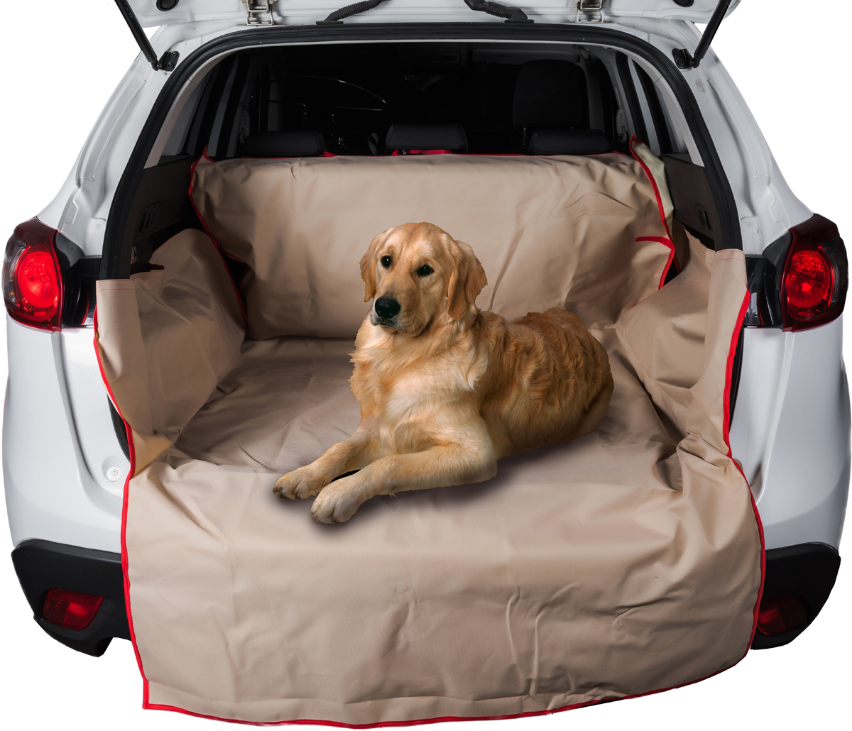 Автогамак для перевозки животных AvtoTink, в багажник, цвет: бежевый, 215 х 120 х 40 см аксессуары для багажников