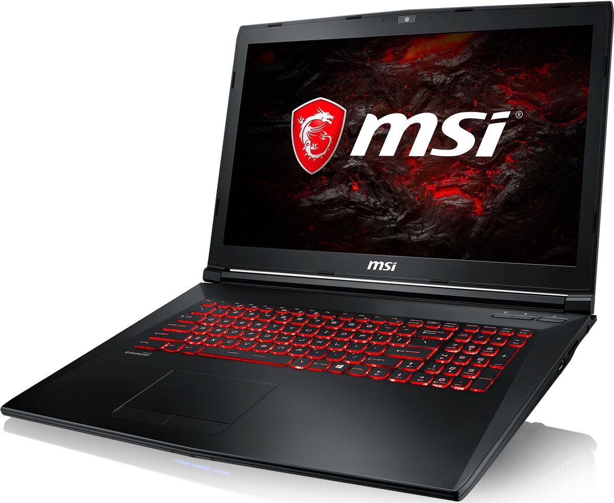 MSI GL72M 7RDX-1484XRU, BlackGL72M 7RDX-1484XRUБыстрый игровой ноутбук MSI GL72M 7RDX с процессором 7-го поколения Intel Core i7 и производительнойграфической картой NVIDIA GeForce GTX 1050. 7-ое поколение процессоров Intel Core серии H обрело более энергоэффективную архитектуру, продвинутыетехнологии обработки данных и оптимизированную схемотехнику. Производительность Core i7-7700HQ посравнению с i7-6700HQ выросла в среднем на 8%, мультимедийная производительность - на 10%, а скоростьдекодирования/кодирования 4K-видео - на 15%. Аппаратное ускорение 10-битных кодеков VP9 и HEVC сталоменее энергозатратным, благодаря чему эффективность воспроизведения видео 4K HDR значительновозросла.3D-производительность GeForce GTX 1050 по сравнению с GeForce GTX 960M увеличилась более чем на 30%.Инновационная система охлаждения Cooler Boost 4 и особые геймерские технологии раскрыли весь потенциалновейшей NVIDIA GeForce GTX 1050. Совершенно плавный геймплей на ноутбуке MSI GL72M 7RDX разбиваетстереотипы об исключительной производительности десктопов, заставляя взглянуть на мобильный гейминг по- новому.Запускайте игры быстрее других благодаря потрясающей пропускной способности PCI-E Gen 3.0x4 с поддержкойтехнологии NVMe на одном устройстве M.2 SSD. Используйте потенциал твердотельного диска Gen 3.0 SSD наполную. Благодаря оптимизации аппаратной и программной частей достигаются экстремальный скоростичтения до 2200 МБ/с, что в 5 раз быстрее твердотельных дисков SATA3 SSD.Вы сможете достичь максимально возможной производительности вашего ноутбука благодаря поддержкеоперативной памяти DDR4-2400, отличающейся скоростью чтения более 32 Гбайт/с и скоростью записи 36Гбайт/с. Возросшая на 40% производительность стандарта DDR4-2400 (по сравнению с предыдущим поколением,DDR3-1600) поднимет ваши впечатления от современных и будущих игровых шедевров на совершенно новыйуровень.Эксклюзивная технология MSI SHIFT выводит систему на экстремальные режимы работы, одновременноснижая шум и температуру до 