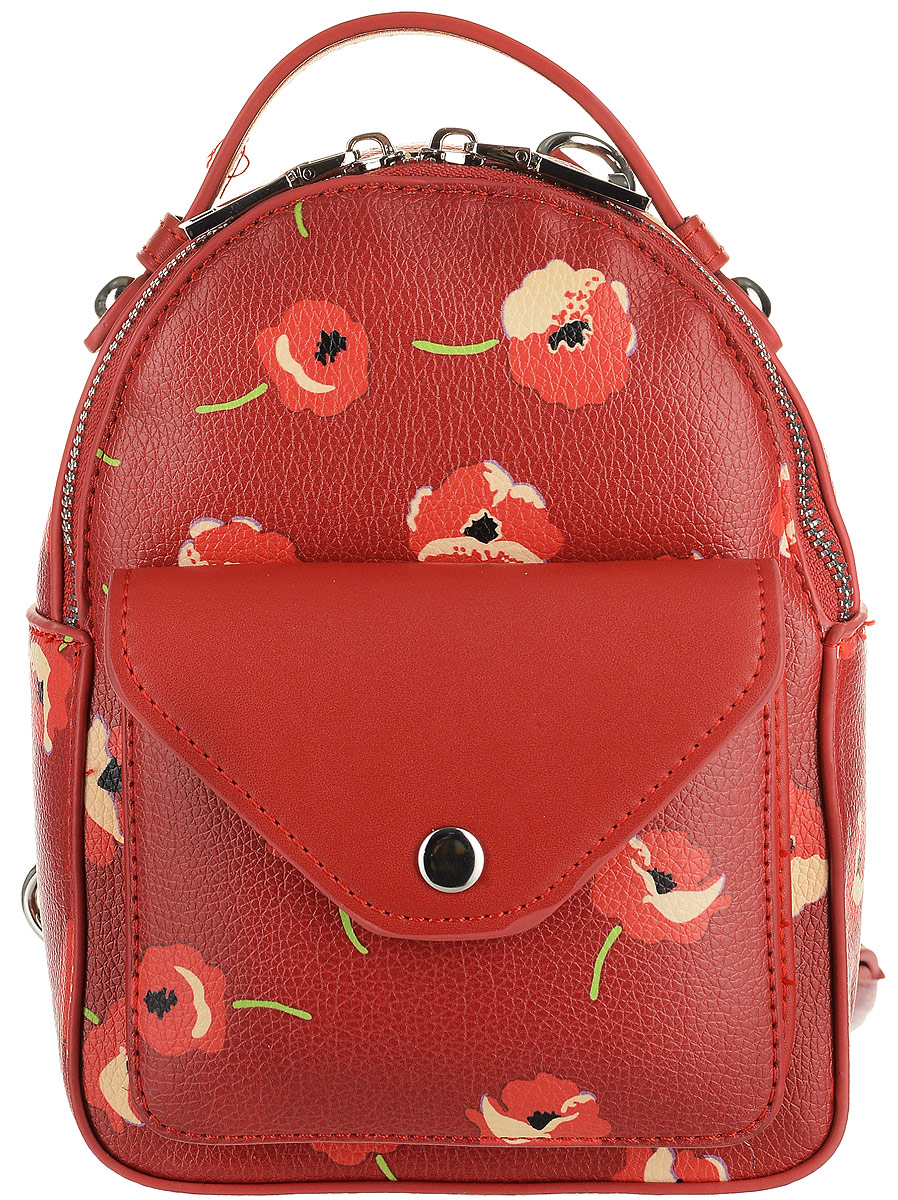 Рюкзак женский OrsOro, цвет: красный, 15 x 20 x 8 см. DS-827/2 цена и фото