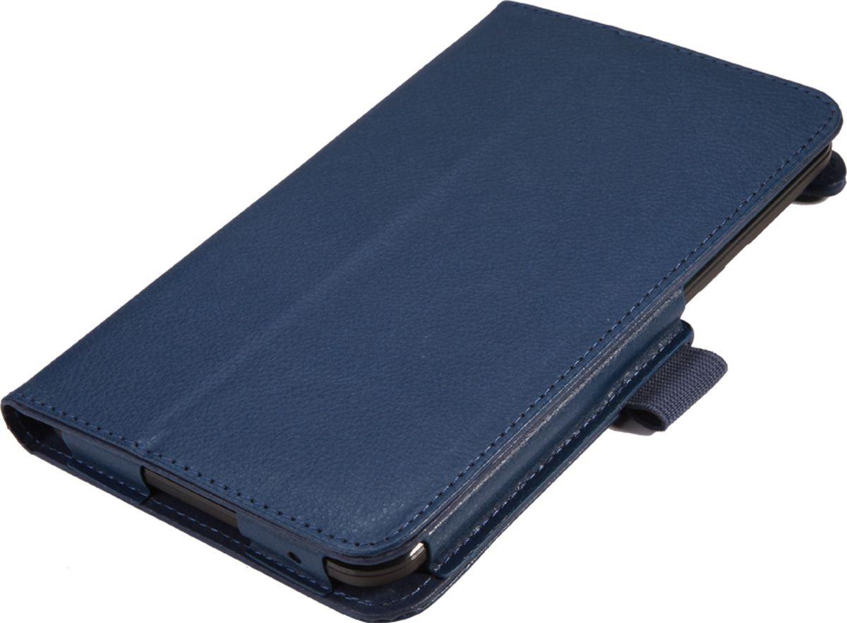 IT Baggage чехол для Lenovo TAB 3 Essential 710i/710F, BlueITLN710-4Чехол для планшета IT Baggage надежно защищает планшет от случайных ударов и царапин, а так же от внешних воздействий, грязи, пыли и брызг. Крышка используется как подставка по устройство. Чехол обеспечивает свободный доступ ко всем функциональным кнопкам.