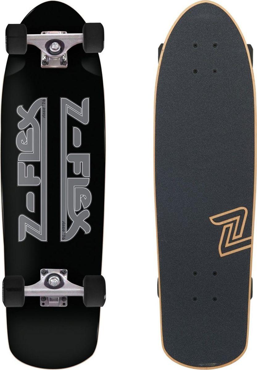 Лонгборд Z-Flex Z-Bar Shorebreak Cruiser, цвет: черный, серый ковры seintex mitsubishi outlander3 2xl citroen c crosser peugeot 4007 высокий борт