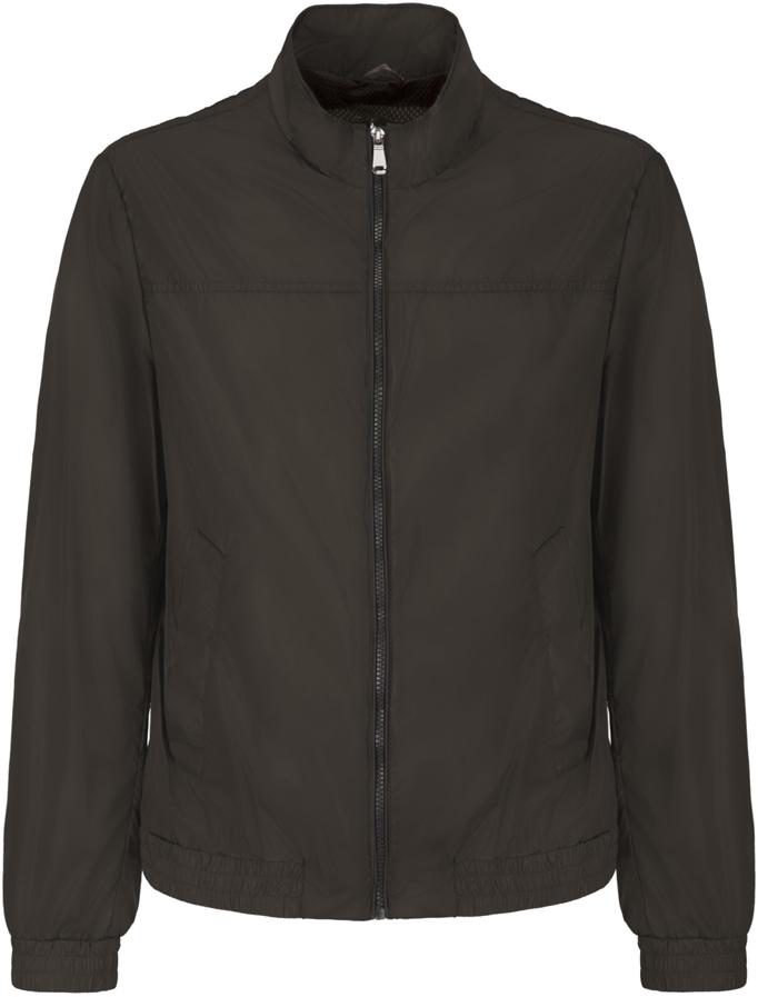 Куртка мужская Geox, цвет: шоколадный. M8221RT2466F6176. Размер 56 куртка мужская geox цвет темно зеленый m8223et2455f3180 размер 56