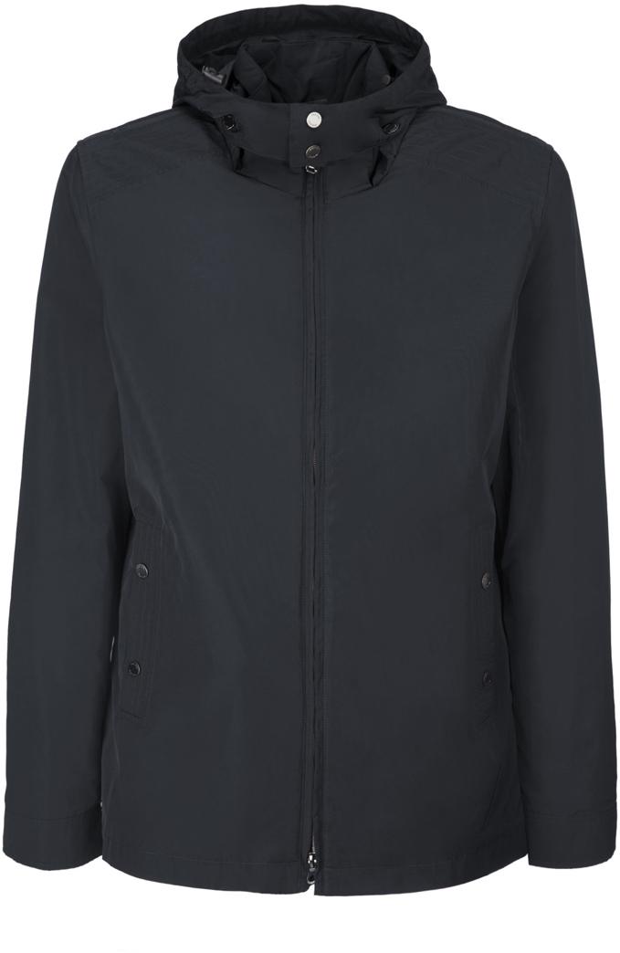 Куртка мужская Geox, цвет: черный. M8220KT2447F9000. Размер 46M8220KT2447F9000Мужскаякуртка Geoxвыполнена из высококачественного материала. Модель с воротником-стойкой и длинными рукавами застегивается на застежку-молнию. Спереди расположены два кармана на кнопках. Съемный капюшон на кулисках застегивается под подбородком на кнопки, к куртке пристегивается также при помощи кнопок.Эта стильная куртка послужит отличным дополнением к вашему гардеробу!
