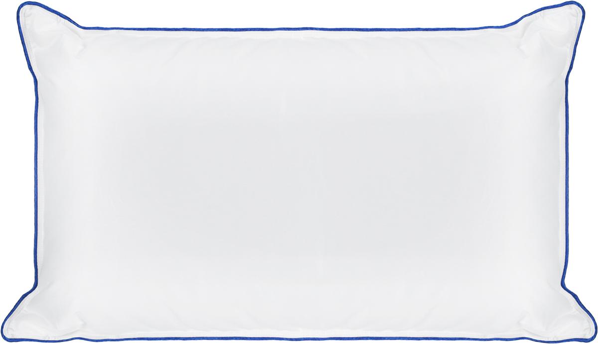 """Подушка Sleep Professor """"Sonata"""" за счет объемного чехла из премиального батиста с наполнителем из «лебяжьего пуха» выглядит как традиционная подушка, при этом имеет наилучшие ортопедические свойства."""